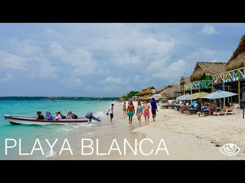 Playa Blanca in Cartagena / Colombia Travel Vlog #150 / The Way We Saw It