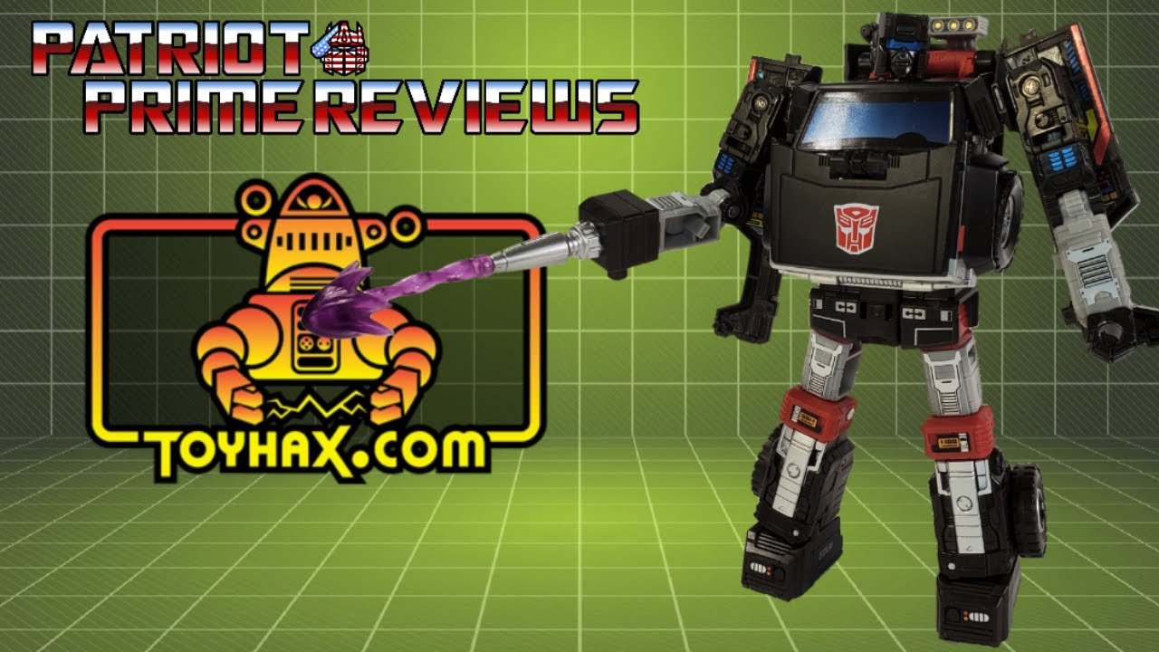 Patriot Prime Reviews Toyhax Decals for Earthrise Trailbreaker