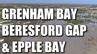 Grenham Bay, Beresford Bay & Epple Bay - shore fishing marks Kent, England