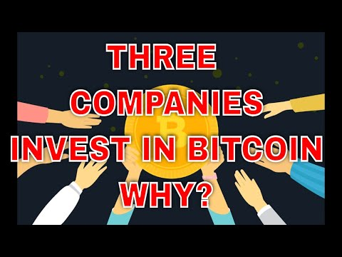 Three Leading Companies Microstrategy, Square, Invested Millions in Bitcoin This Year, Here Is Why