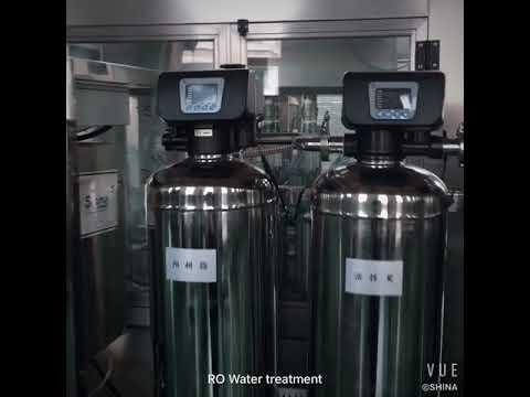 SHSINA High quality RO water treatment plant in shanghai