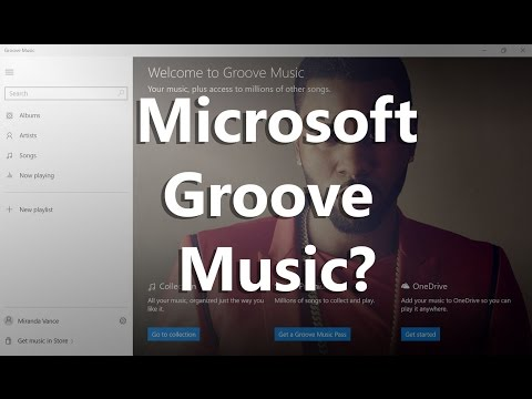 Xbox Music Is Now Groove Music....I Can't Get Jiggy To This!
