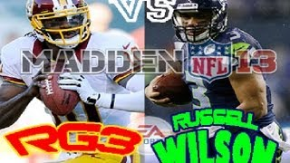NFL Playoffs: NFC Wild Card: RG3 vs Russell Wilson Seahawks vs Redskins