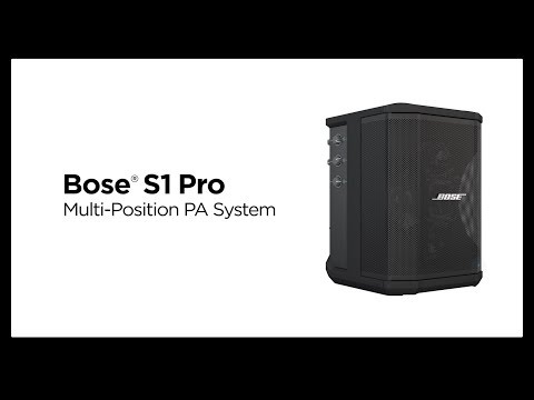 Bose S1 Pro Overview