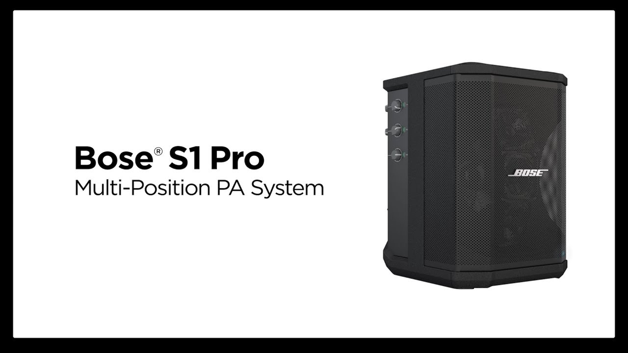S1 Pro PA System with Bluetooth & Battery