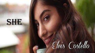 "She   Elvis Costello  ""Notting Hill"" (TRADUÇÃO) HD (Lyrics Video)"