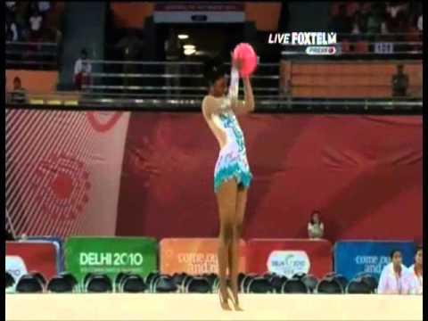 Pooja Surve 2010 Commonwealth Games Ball All Around