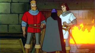 (3) The Four Black Knights - Ivanhoe