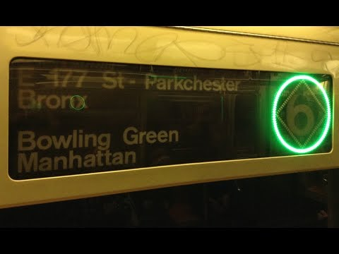 On Board R62A (6) Train From 125th Street to Bowling Green via Lexington Avenue Express