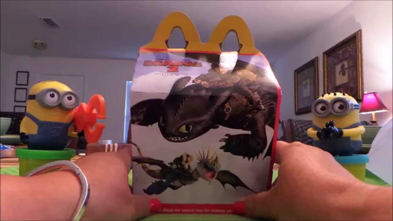 Mcdonalds Usa Happy Meal 2014 How To Train Your Dragon 2