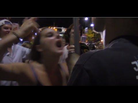 DEMON POSSESSED DRUNK GIRL SLAPS PREACHERS MIC @ SNOOP/WIZ ATL 7/22/16 PT. 6/8