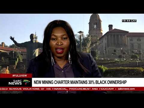 Reaction To New Mining Charter: Ntokozo Ngcwabe