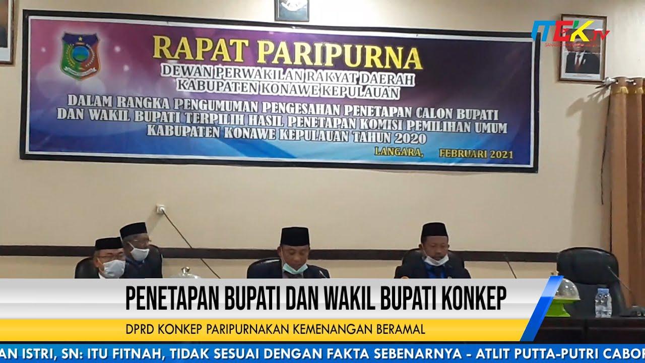 DPRD Konkep Paripurnakan Kemenangan Beramal