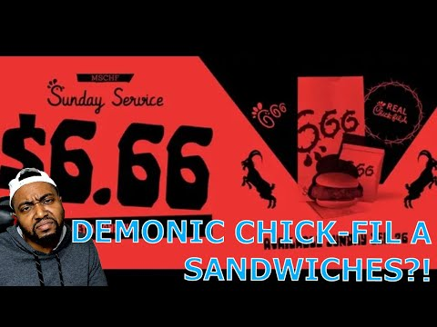 Company Selling Demonic Chick-Fil-A Sandwiches For $6.66 On Sunday To 'Own' Conservative C