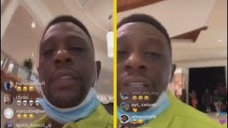 Boosie Goes Off On People In Line For Gucci!