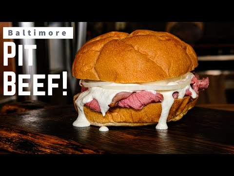 Baltimore Pit Beef Sandwich Recipe | Pit Beef On The Pit Barrel Cooker!