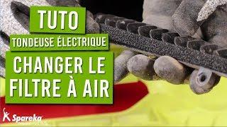 TUTO : comment remplacer le filtre à air de votre tondeuse électrique