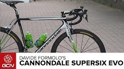 Davide Formolo's Cannondale SuperSix Evo   Giro D'Italia 2015