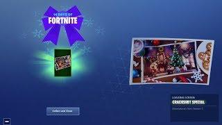 fortnite 14 days of christmas day 6 rewards