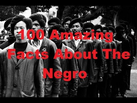 HISTORY REVEALED: 100 Amazing Facts About the Negro (Part 1/2)