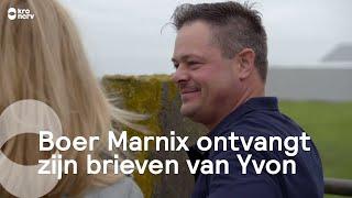 Boer Marnix ontvangt zijn brieven van Yvon | Boer zoekt Vrouw