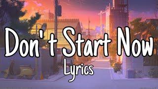 Baixar Dua Lipa - Don' t Start Now (Lyrics)
