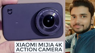 Xiaomi Mi Mijia 4K Action Camera Unboxing & Hands On | Hindi - हिंदी