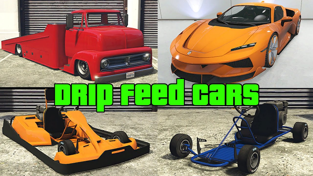 GTA 5 - Cayo Perico Heist DLC - ALL Drip Feed Cars (Prices & Real Life Counterparts)