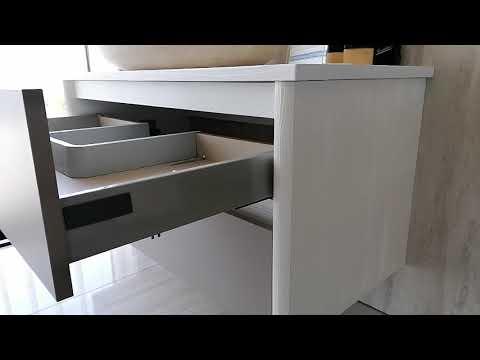 Mobile da bagno sospeso Artemide per lavabi da appoggio - N. prodotto: 56455