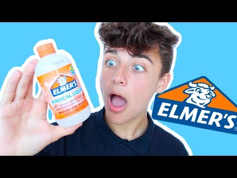ELMERS MAGICAL LIQUID! Elmers slime kit! ELMERS SLIME ACTIVATOR!