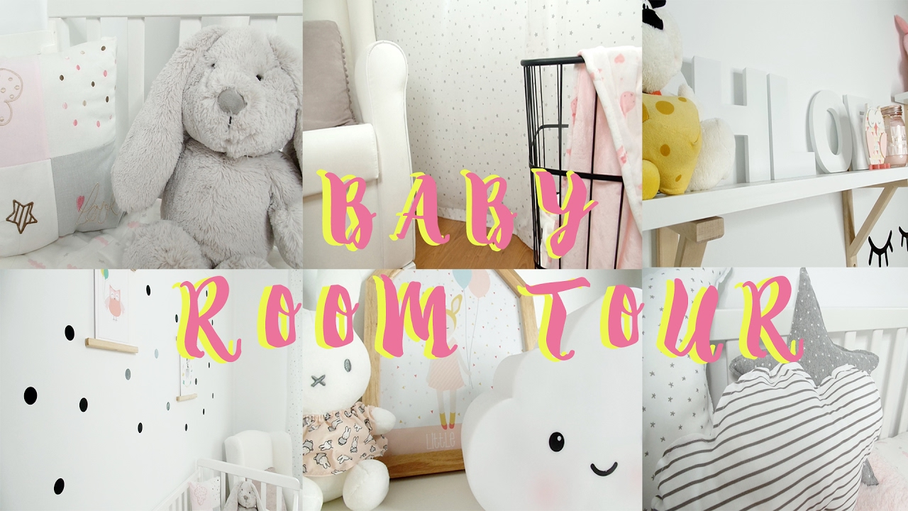 BABY ROOM TOUR I estilo nordico, decoración habitación bebe - YouTube