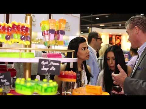 LeSoie Cosmetics: Beauty World Middle East 2014 Exhibition
