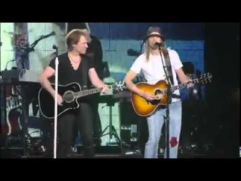 Bon Jovi - Wanted Dead or Alive feat. Kid Rock (Live in Auburn Hills, Michigan 2010)