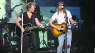 Bon Jovi - Wanted Dead or Alive feat. Kid Rock (Live in Auburn Hills, Michigan 2010)