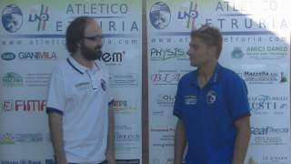 Atletico Etruria - Cascina: interviste post-partita a Bonini (Atletico Etruria) e Bonamici (Cascina)