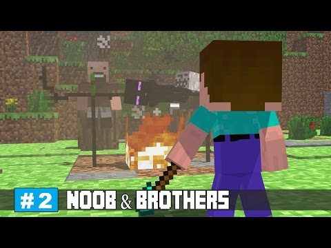 Odd Village - Minecraft Aimation | Noob And Brothes Series