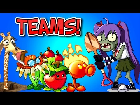 Plants vs. Zombies 2 EXCAVATOR ZOMBIE vs Team Plants PART 1 ✔