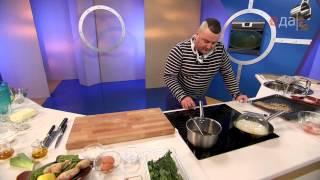 Жареная тилапия с рисом и кунжутным соусом