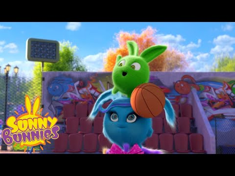 SUNNY BUNNIES - Bunny Basketball | Season 2 | Cartoons For Children