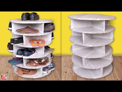 UseFull...Shoes Stand !!  Best Out Of Waste Organization Idea 2019 || DIY Shoes Rack