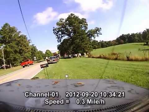 Dashcam MVA 9/20/2012 7700 block of Ga highway 301.