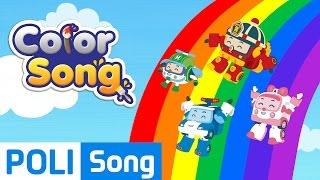 04.Color Song   Robocar Poli Educational Nursery Rhymes