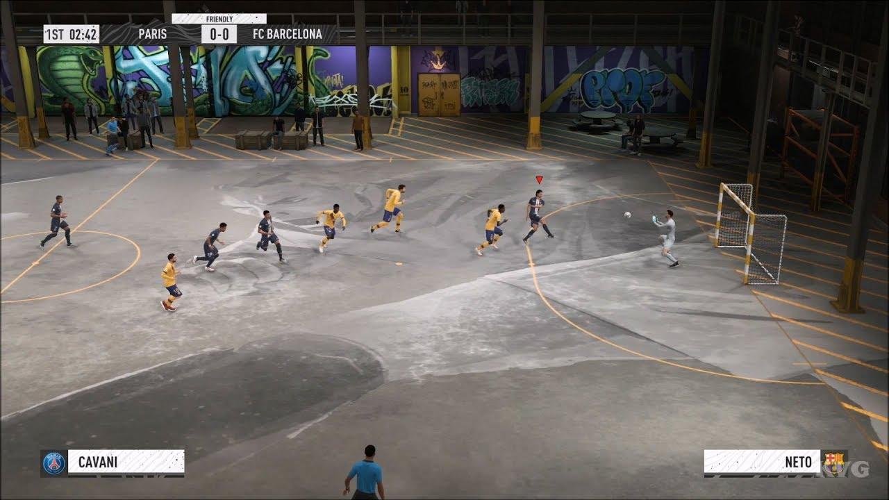 FIFA 20 – Volta Futsal Gameplay (PS4 HD) [1080p60FPS]