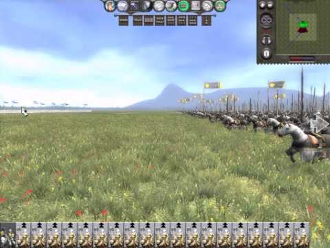 Medieval 2 Total War - Massive Cavalry Charge  