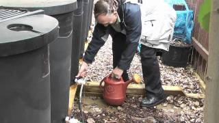Rain barrel tricks