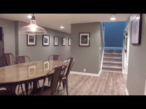 Finished Basement Walkthrough | Franklin, MI