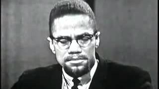 MALCOLM X – APPEARS ON A TV GAMESHOW
