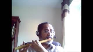 Songs on Bansuri (Indian Flute) Pachai malai poovu (பச்சை மலை பூவு..)