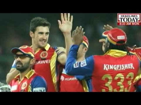 Lights Camera Cricket: RCB Annihilates DD