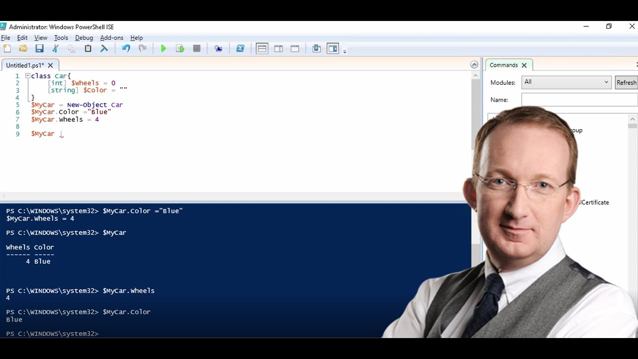 PowerShell: Classes, Objects and JSON Files